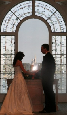 Wedding at Disney World