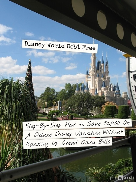 Disney World Debt Free