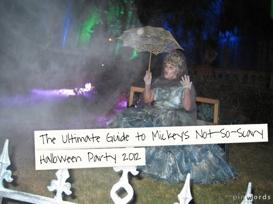 Ultimate Guide to Mickey's Not-So-Scary Halloween Party 2012